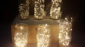Lights For Glass Vases Glass Vase With Fairy Lights For Centrepiece Furniture