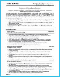 Elementary School Principal Resume Examples Awesome An Effective Sample Of Assistant Principal Resume Resume 6