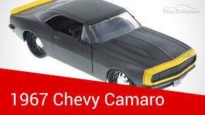 1967 Chevy Camaro, Black - JADA Toys 1/24 Scale - YouTube