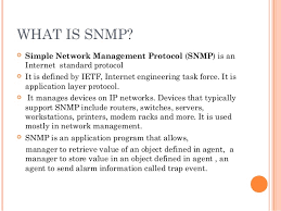What Is Snmp Snmp