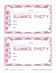 How To Make A Sleepover Invitation Ffdfdfffefdddfb Spectacular Slumber Party Invitation Ideas