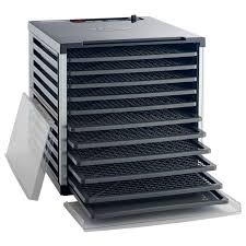 Mighty Bite <b>10</b>-Tray Double Door Countertop <b>Dehydrator</b> | LEM ...