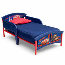 Lightning Mcqueen Bedroom Furniture Delta Children Disney Cars Plastic Toddler Bed Walmartcom