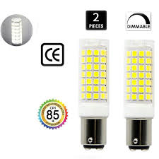 25w Equivalent Bright White G9 Led Light Bulb Ba15d Led Bulb Dimmable 8 5w Double Contact Bayonet Base 75w
