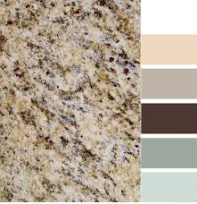 Granite Colours For Kitchen Benchtops Santa Cecilia Granite With Color Scheme Home New House