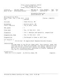 free emergency room doctors note hospital excuse form referral forms rafaelfran co