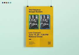 Concert Poster Design Live Concert Poster Template