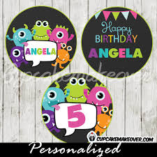 Lil Monster Birthday Invitations Little Monsters Bash Birthday Party Invitation Personalized D3