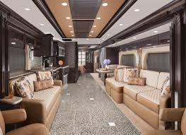 2015 King Aire 4553 luxury motor coach with Florence Interior and Sable  Maple Cabinetry
