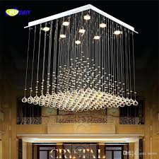 drop chandelier crystal chandelier modern re hotel stair led crystal lighting fixtures lobby rain drop chandeliers