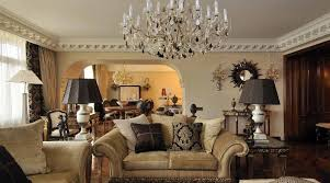crystal chandelier is great for decorating