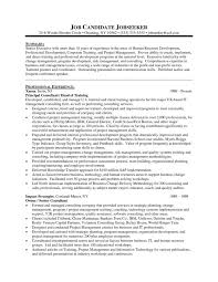 Corporate Trainer Resume Samples A Sample Training And Development