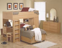 attractive inspiration bunk beds with desk and storage best design modern twin