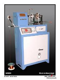 picture of india s no 1 ceiling fan winding machine