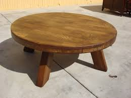 the best diy small round coffee table rustic