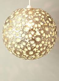 ornate lighting. Ornate Lamp Shades Lighting 4 Views Champagne Ball Pendant Ceiling Lights Home Large