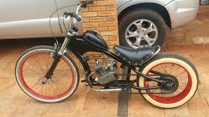 bike chopper motorizada 80cc youtube