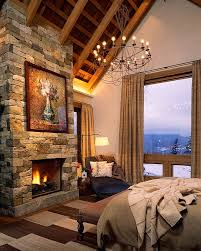 ... Custom Mix Of Local Stones For The Bedroom Fireplace [Design: Poss  Architecture + Planning