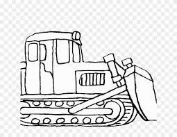 Bulldozer Pictures To Color Bulldozer Mecanic Shovel Construction