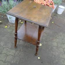 walnut flower table for at pamono