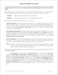 Examples Of Descriptive Essay About A Place Descriptive Essay Example Place Descriptive Essay Examples Writing A
