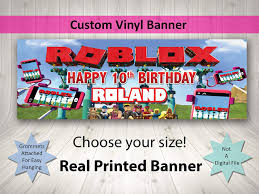 happy birthday customized banners roblox happy birthday personalized customized banner theater