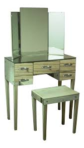 hollywood regency mirrored furniture. Hollywood Regency Mirrored Vanity With Bench On Chairish.com Furniture R