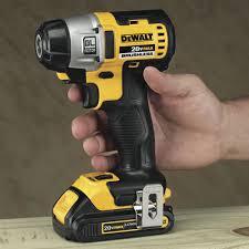 dewalt impact driver vs drill. dewalt brushless impact driver size vs drill a