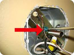 just make sure the new lighting fixtures ground wire is located at least one turn under the ground