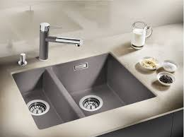 Blanco Granite Kitchen Sink The Perfect Balance Blanco