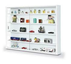 wall mounted collection display cabinet
