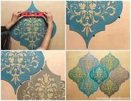 moroccan wall decor how to stencil dreams wall art wood shapes wall decor moroccan wall decor ideas