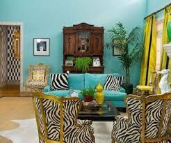 ... Turquoise vibrant interior design from Jill Sorensen