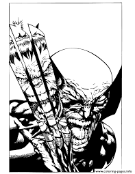 x men wolverine fights incredible hulk coloring pages printable