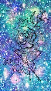 Colorful Galaxy Flowers (Page 1) - Line ...