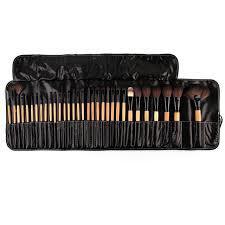 great 32pcs natural makeup brushes makeup artist professional cosmetics set best quality bridal