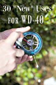the squeaky wheel gets the grease think wd 40 is only for tight bolts