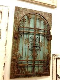 iron gate wall decor metal gate wall art wrought iron decor arched mount dog gates wrought