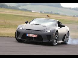 2012 Lexus LFA - Black Front Angle Smoke - 1280x960 - Wallpaper