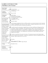 Ideas Collection Sample Cover Letter Full Block Letter Format Pdf