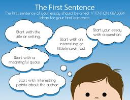how to write a great hook for your essay first sentence