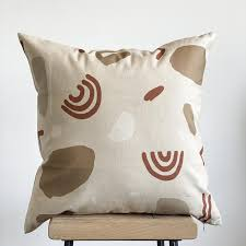 abstract cushion cover nursery pillow