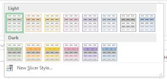 Excel Slice Theme Ill Have A Slicer That My Online Training Hub