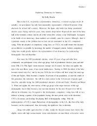 essay on importance of democracy essay democracy kelly kracke exploiting democracy essay  kracke  exploiting democracy in america by kelly
