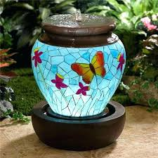 lighted water fountain lighted water fountains outdoor in lighted water fountains outdoor waterfall fountain large best