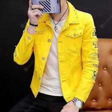<b>Autumn And Winter</b> Mens Port Style Denim Jacket Denim Jacket ...