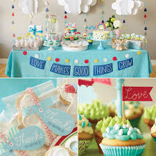 baby shower banners love makes good things grow baby shower theme hallmark ideas