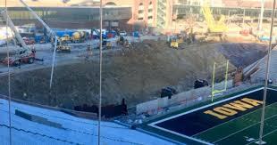 Iowas Kinnick Stadium North End Zone Renovation Seating Update