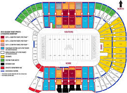 Gopher Hockey Seating Chart Tcf Bank Stadium Seat Map
