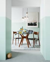 The Hottest Brunch Spot In Town Has No Wait And The Dress Code Is - Dining room two tone paint ideas